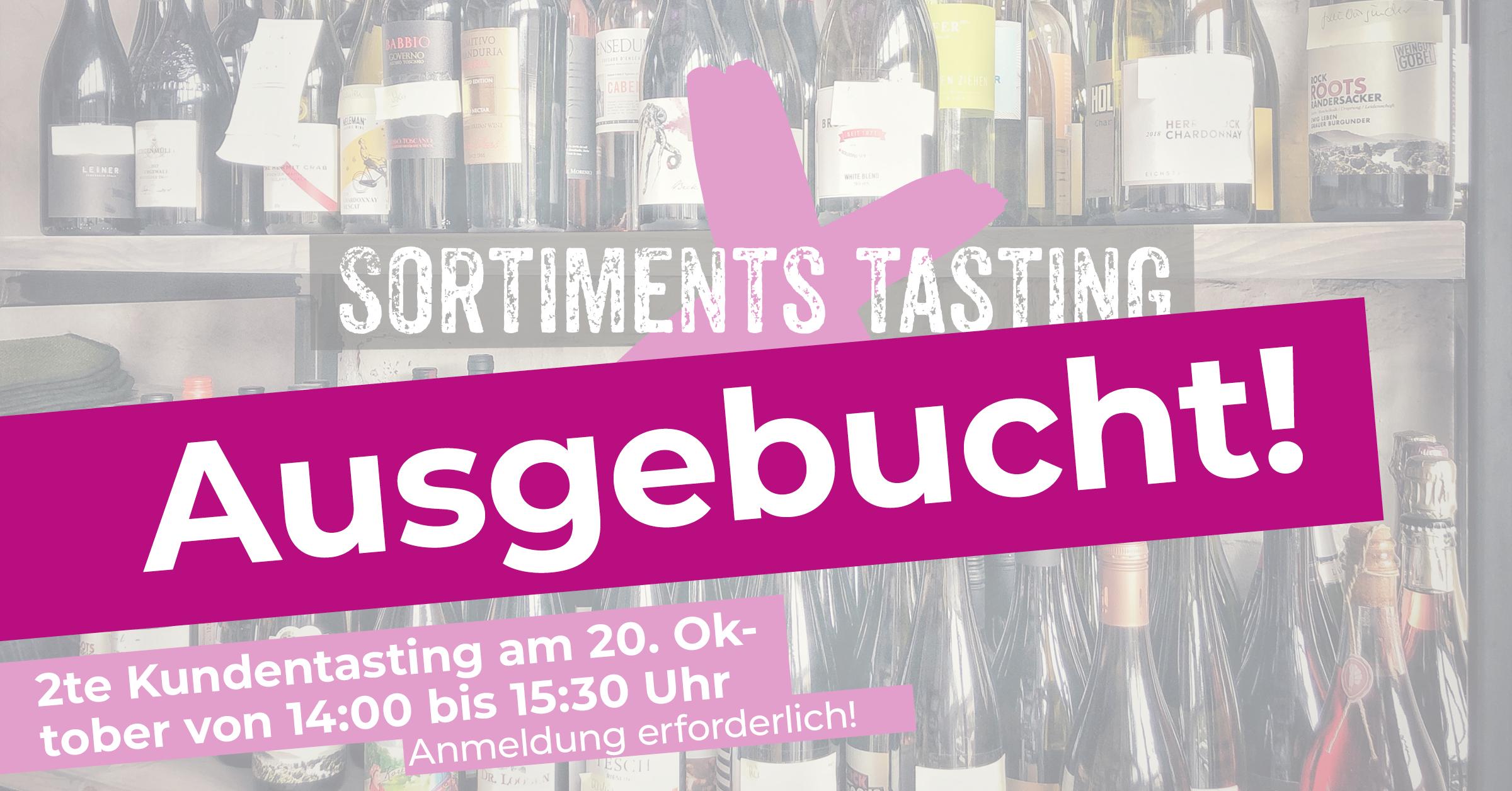2te Weinprobe und Sortimentstasting mit unseren Kunden und Gästen im WINE HOUSE Krefeld auf dem Großmarkt