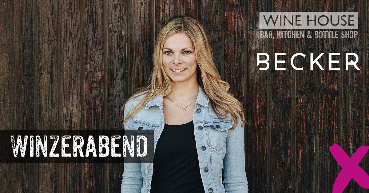 Winzerabend und Winetasting mit Jungwinzerin Sabrina Becker aus Rheinhessen
