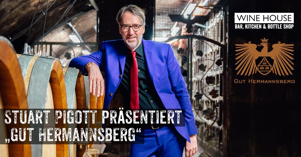 Winzerabend mit Stuart Pigott und dem Weingut Gut Hermannsberg im WINE HOUSE Krefeld