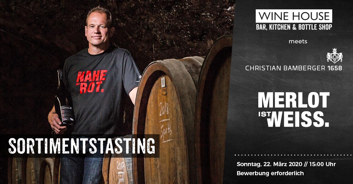 Weintasting mit Christain Bamberger von der Nahe