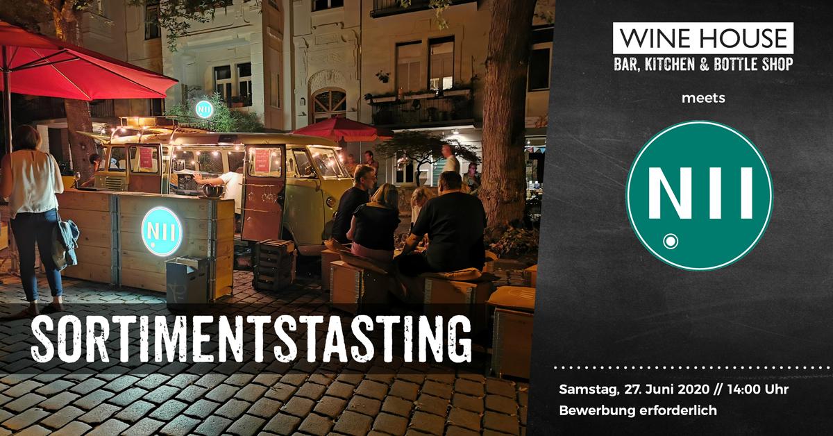 Sortiments-Tasting mit N11 Gelagewein aus Rheinhessen
