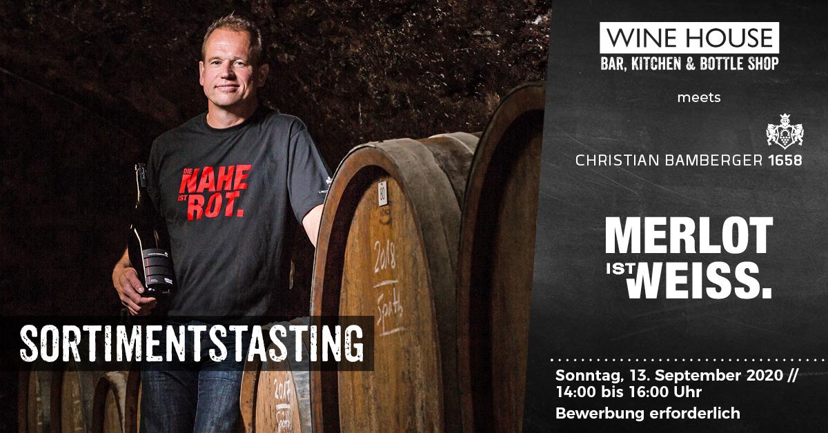 Weintasting mit Christian Bamberger in Krefelds größter Weinbar auf dem Krefelder Großmarkt.