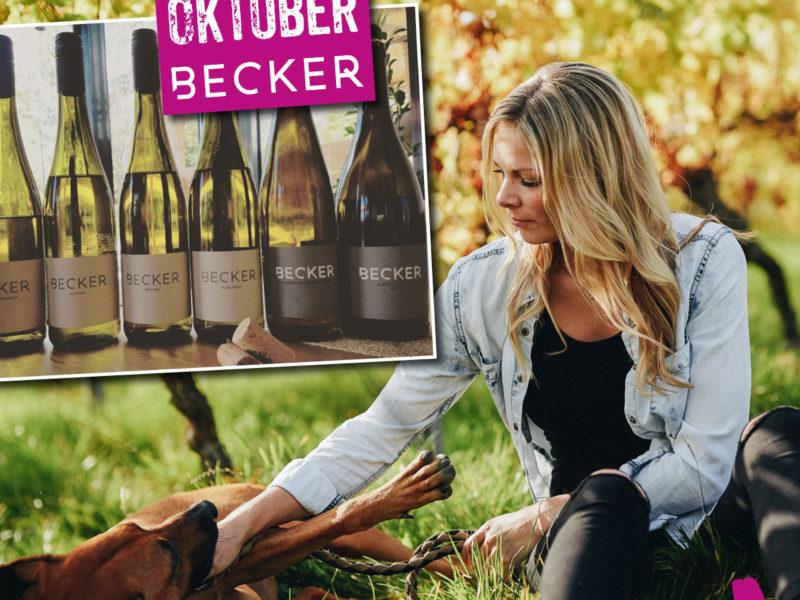Sabrina Becker ist Winzerin des Monats im WINE HOUSE auf dem Krefelder Großmarkt