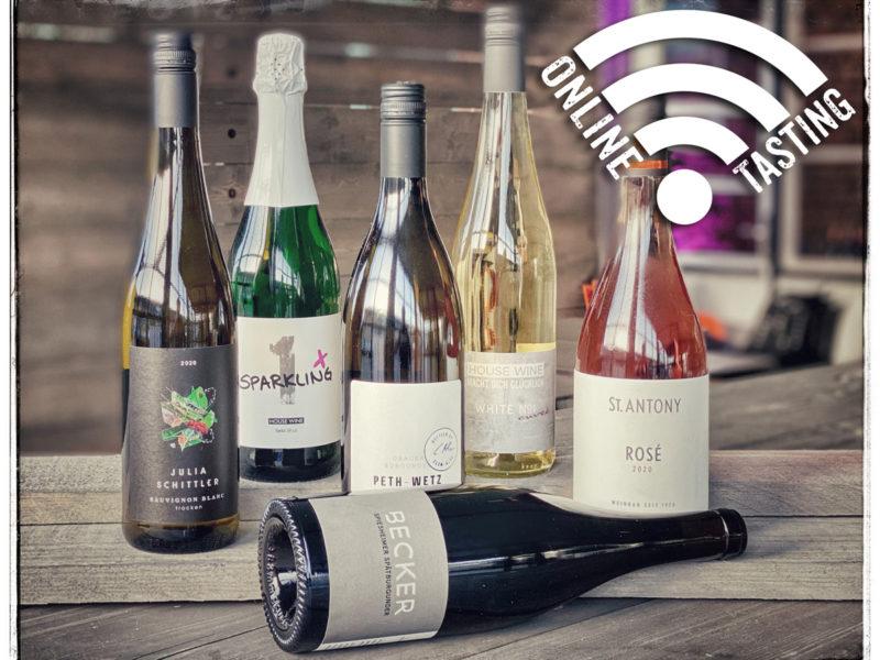 Online Winetasting im WINE HOUSE auf dem Krefelder Grossmarkt