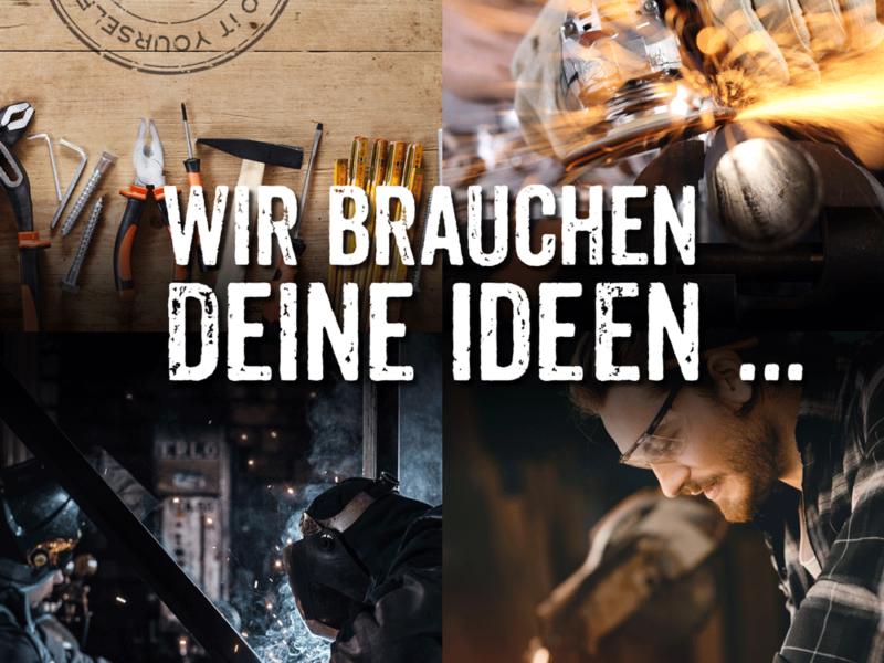 Das WINE HOUSE auf dem Krefelder Grossmarkt sucht Ideen für Outdoor Möbel.