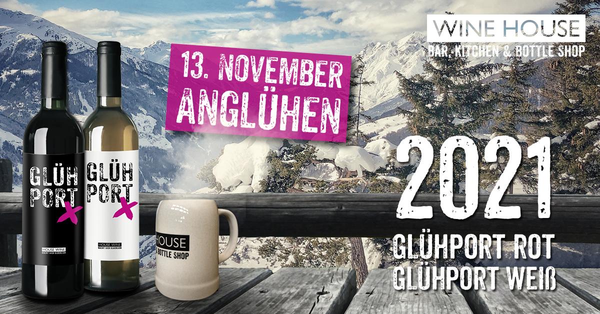 Präsentation der 2021er Auflage des WINE HOUSE Glühwein GLÜHPORT